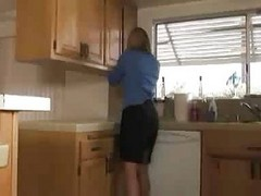 sun in low fuck wife mom in kitchen
