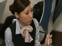 Asian Handjob Japanese Stewardess