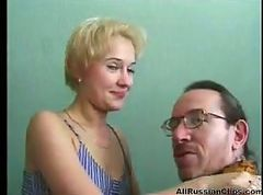 Teen Swallow Russian Cumshot