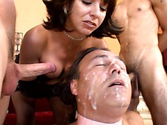 cuckold interacial punishment cum eater