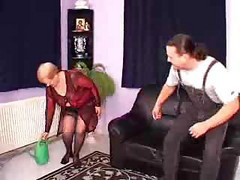 Granny German Threesome