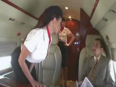 airline stewardess