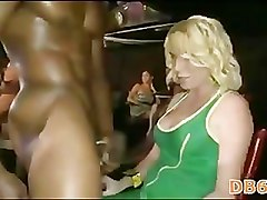 batchelorette fucks stripper at her party