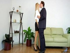 fucked in frent of her husband