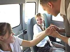 Bus Teen Surprise