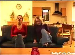 Casting Homemade Threesome