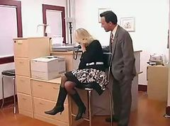 Glasses Office Ass Milf