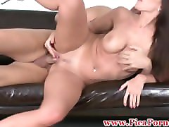 Latina Babe Riding Audition