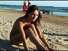 Public Teen Nudist Beach Strip
