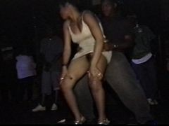 Black Upskirt Dance