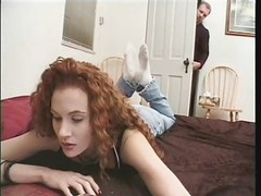 interracial with redheaded anal