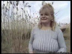 grannie anal with saggy tits