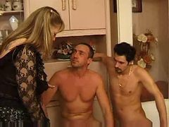 French Threesome Mature