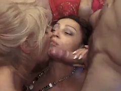 French Matures Orgy