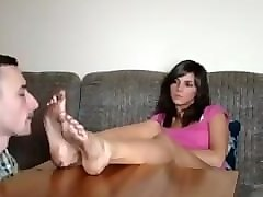 nylon feet cleaning slave