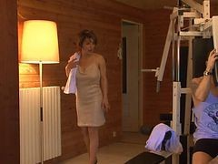 French Sauna Milf