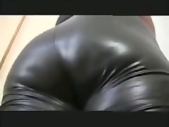 Black Leather Tight