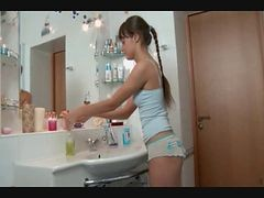 ebony fuck in bathroom