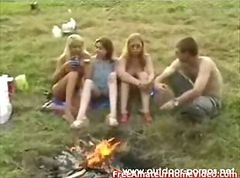 Teen Russian Outdoor