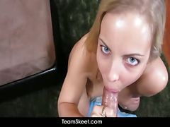black dick blowjob cum swallow