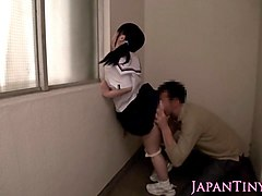 little japanese schoolgirl pussy play