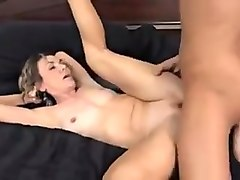 fat chick fucked by two guys in office