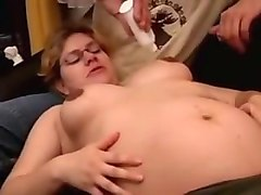 mom teaching handjob