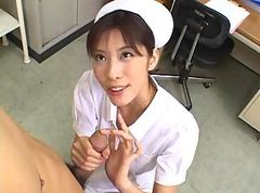 amazing nurse gets fucked in office