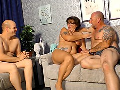 German Threesome Mature
