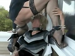 mask blowjob amateur