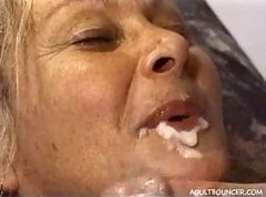 sperm facial gay