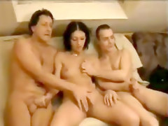 Amateur German Threesome