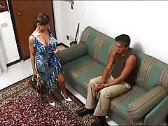 Bus Housewife Italian Wife Threesome