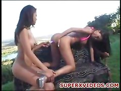 Lily And Mika Tan Play With Their Toys Outdoor Nasty Amateur Lesbians Oral Sex