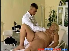 busty hot doctor and nurse fuck their sleeping