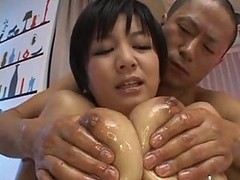oiled interracial