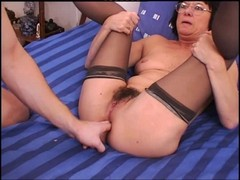Anal Granny Stockings