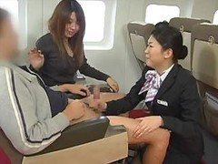 japanese flight attendant air stewardess