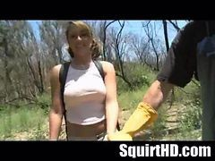 Teen Squirt Tied